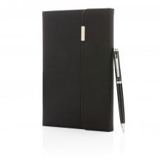 Набор Swiss Peak Deluxe из блокнота и ручки, А5