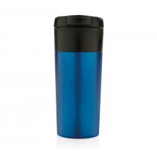 Термокружка Flip-lid, синяя