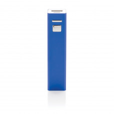 Универсальное зарядное устройство 2200 mAh, темно-синий