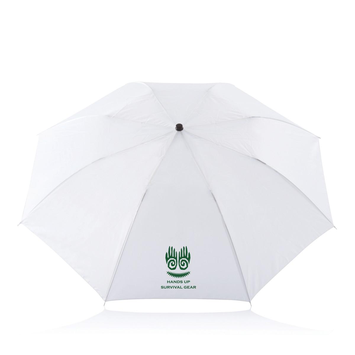 Складной зонт Deluxe 20,белый