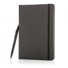 Блокнот для записей Basic и ручка-стилус, А5
