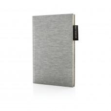 Блокнот Deluxe Jersey, A5, серый