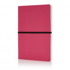 Блокнот формата A5, розовый