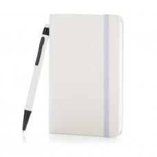 Блокнот для записей Basic в твердой обложке c ручкой-стилус, А6