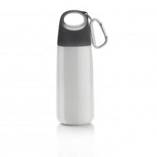 Бутылка для воды с карабином Bopp Mini, 350 мл, белый