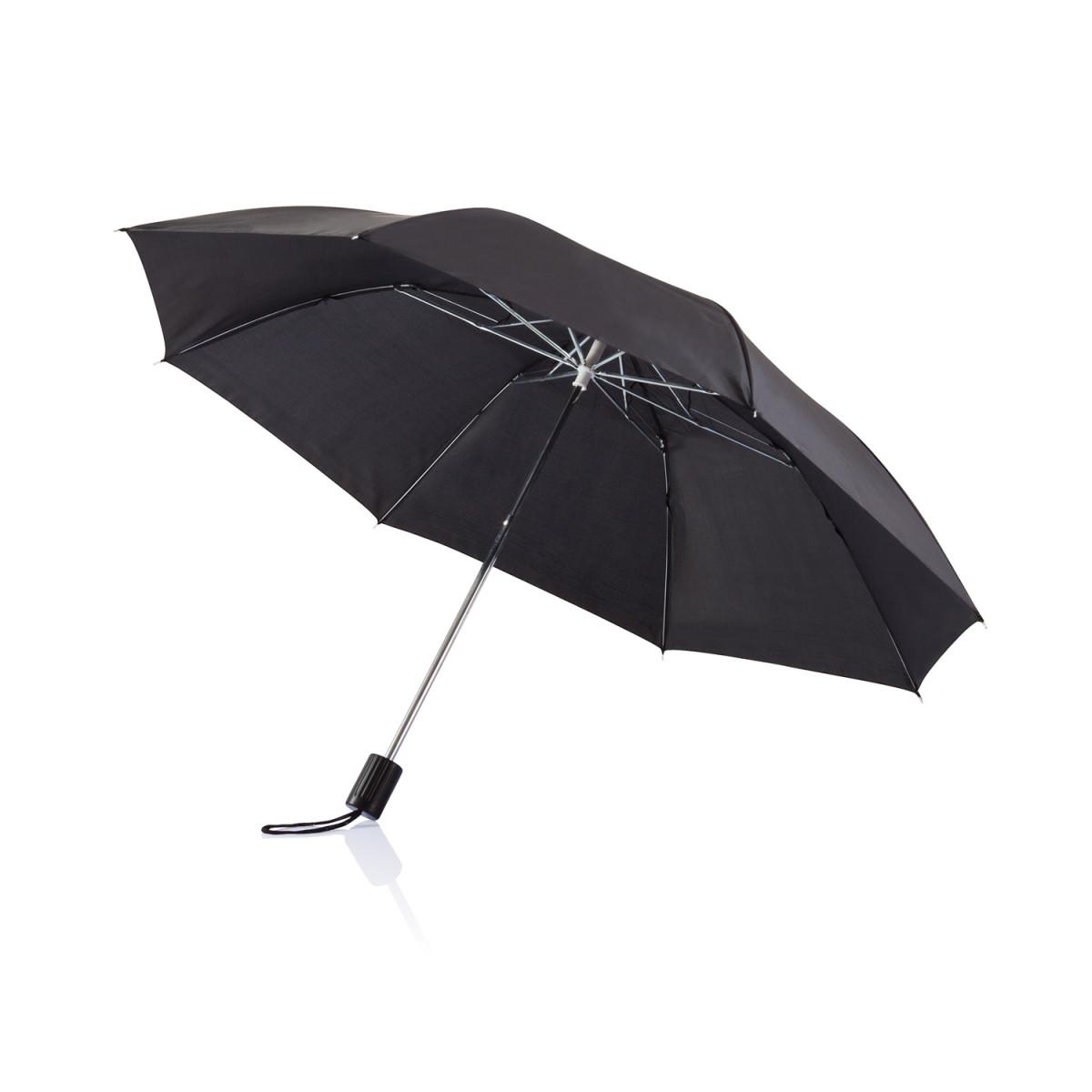 Складной зонт Deluxe 20,черный