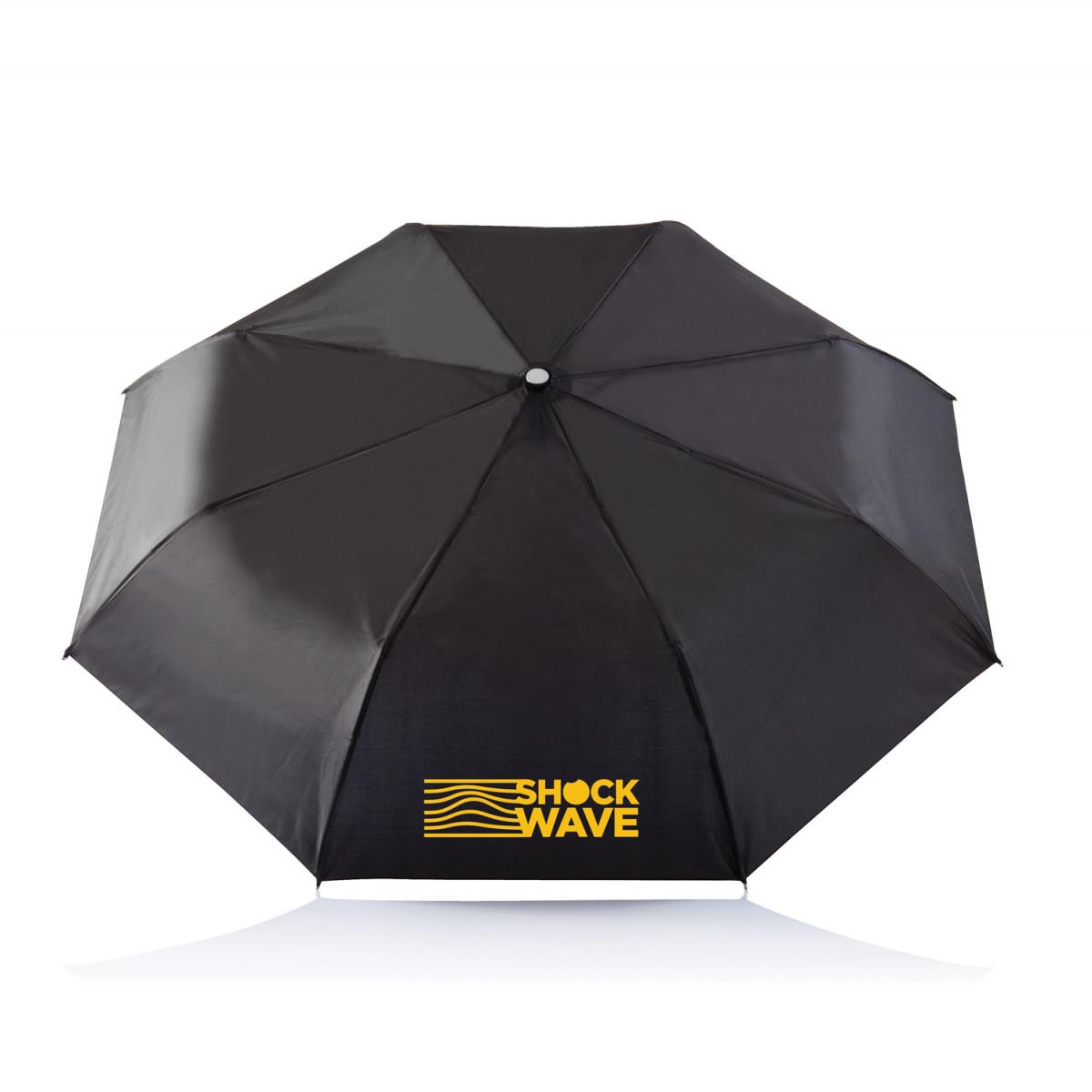 Складной зонт-автомат Deluxe 21,5,черный