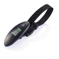 Электронные весы для багажа, черный