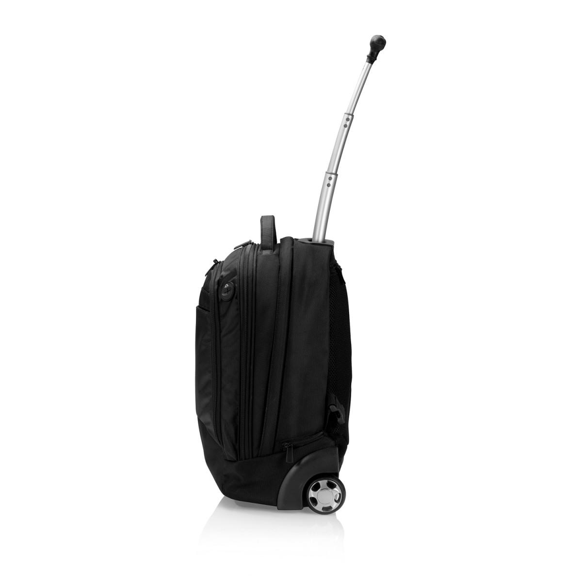 Рюкзак на колесах Executive, черный