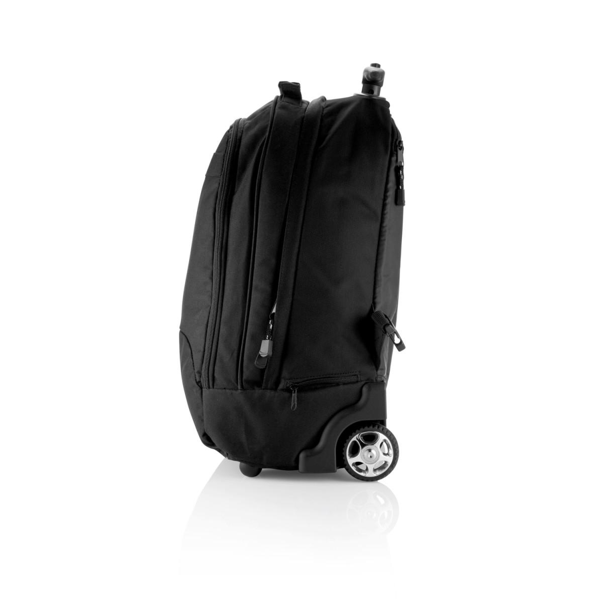 Рюкзак на колесах Business, черный