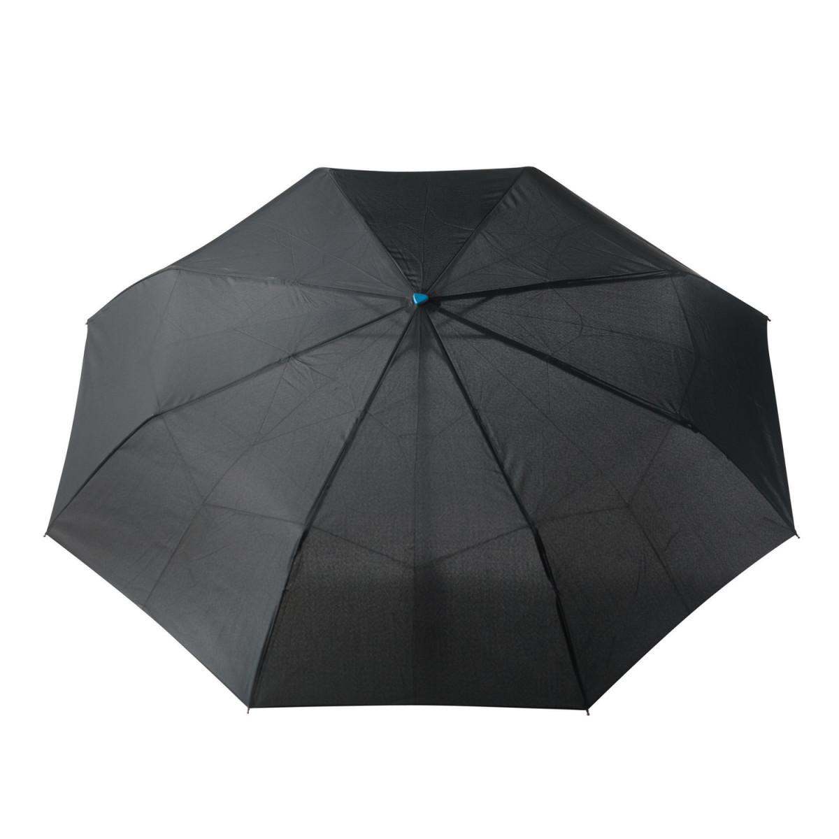 Складной зонт-автомат Brolly  21,5,синий