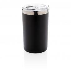 Компактная термокружка Light up, черный