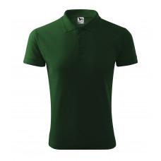 Рубашка поло мужская 203 Pique Polo - Бутылочно-зеленый