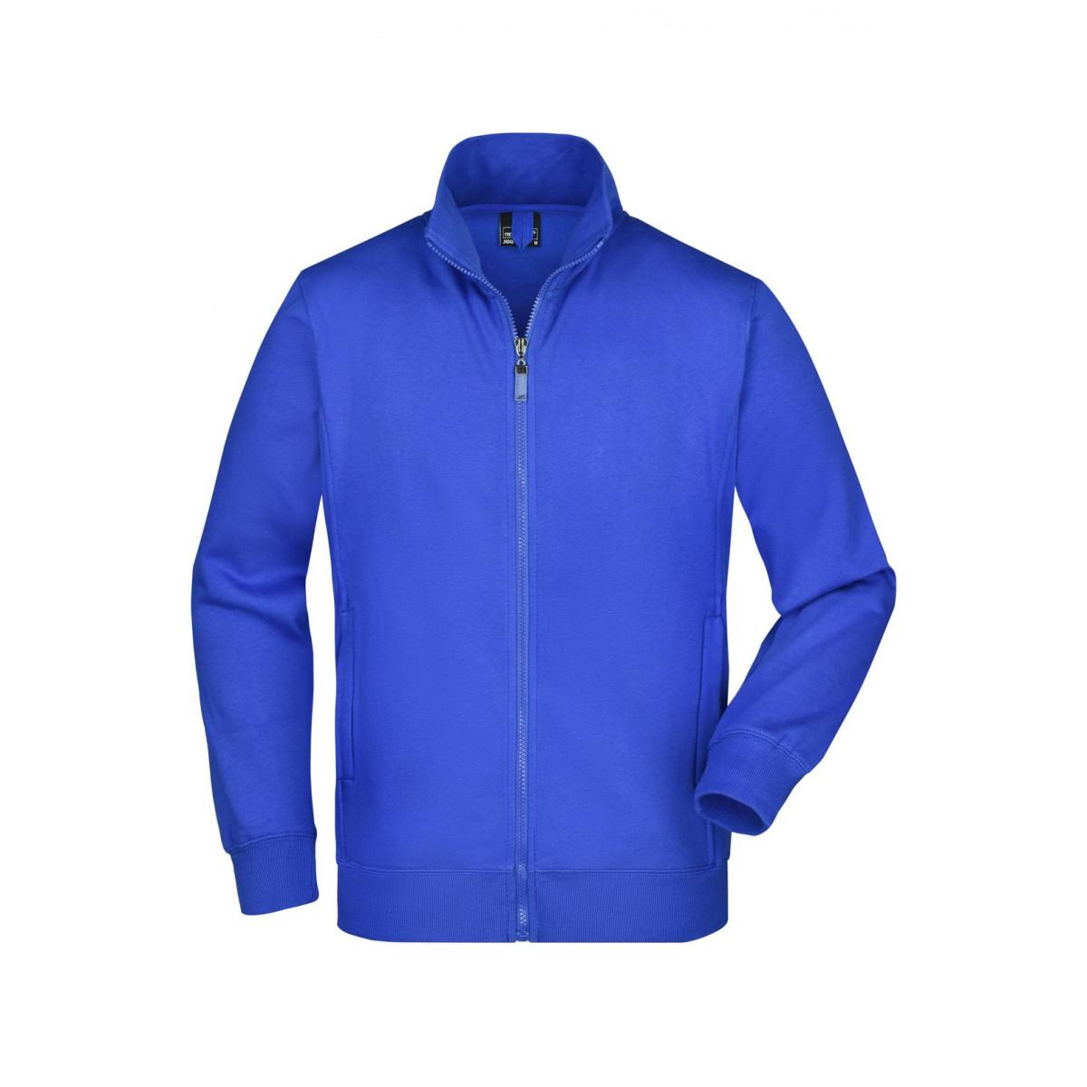 Толстовка мужская JN046 Mens Jacket - Ярко-синий
