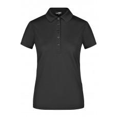 Рубашка поло женская JN574 Ladies' Active Polo - Черный
