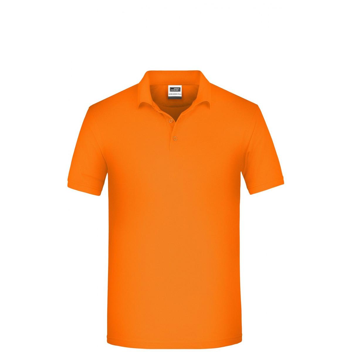 Рубашка поло мужская JN874 Mens BIO Workwear Polo - Оранжевый