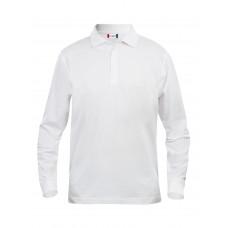 Рубашка поло мужская 028245 Classic Lincoln L/S - Белый
