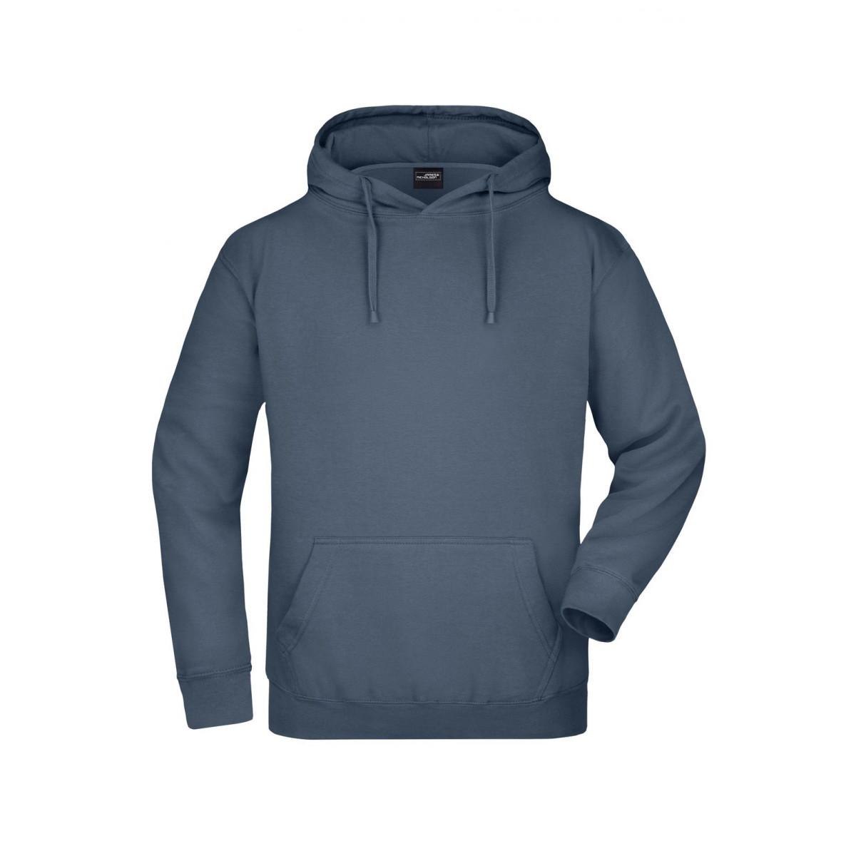 Толстовка мужская JN047 Hooded Sweat - Карбон