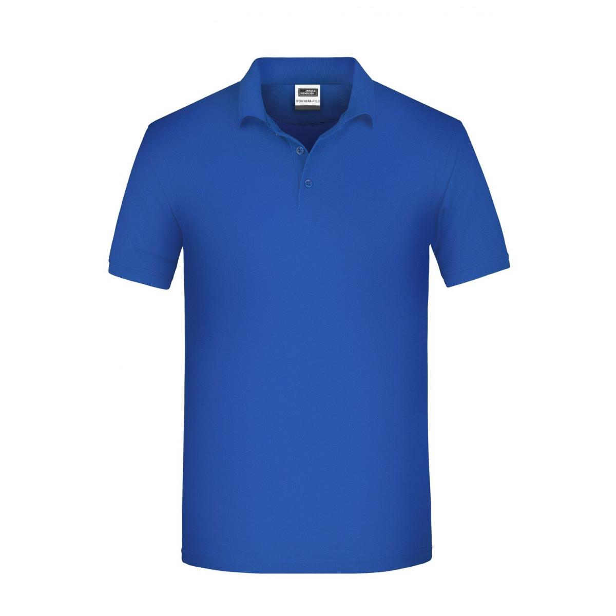 Рубашка поло мужская JN874 Mens BIO Workwear Polo - Ярко-синий