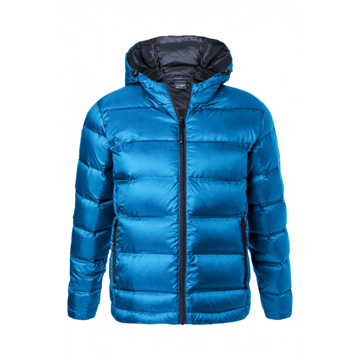 Куртка мужская JN1152 Mens Hooded Down Jacket - Синий/Темно-синий
