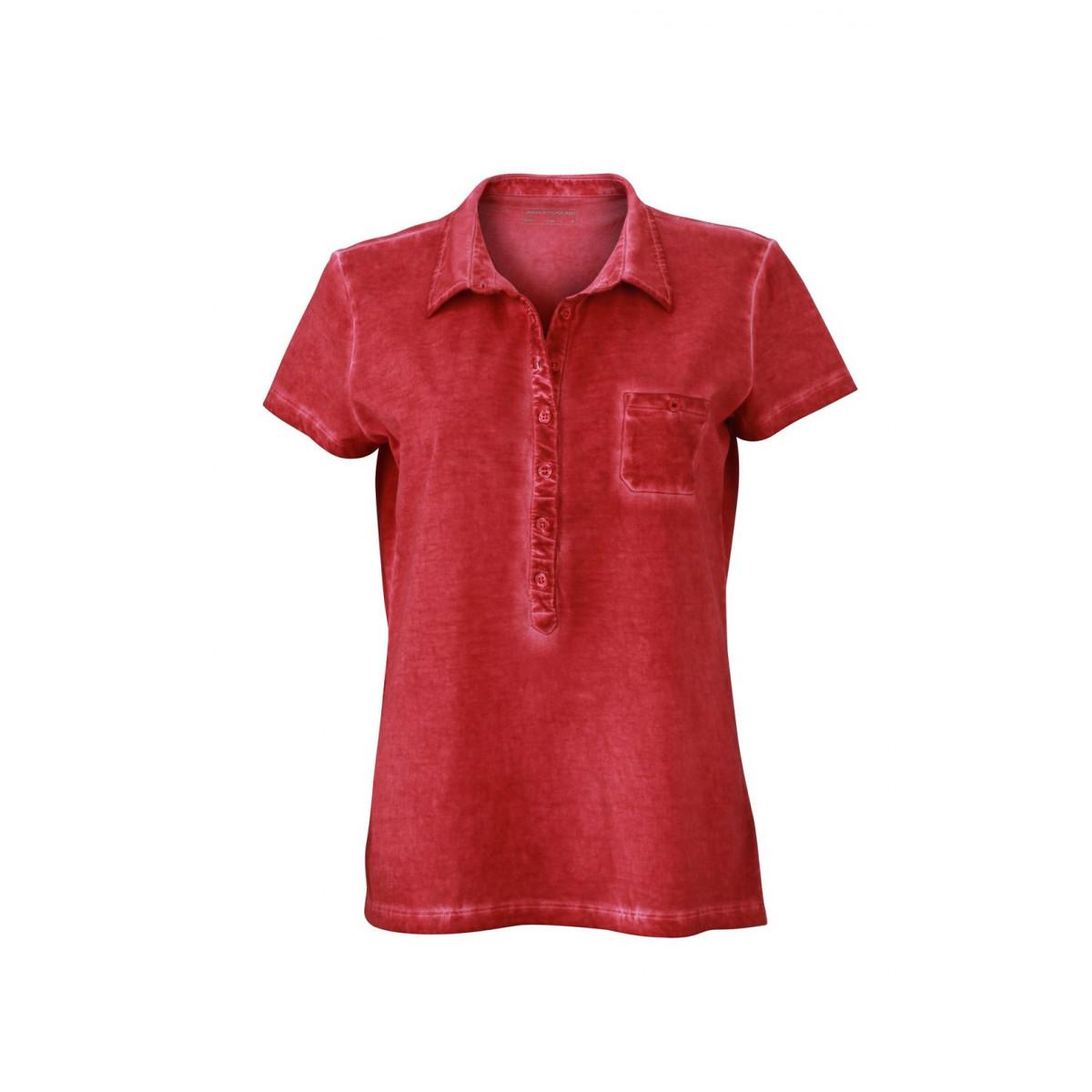 Рубашка поло женская JN987 Ladies Gipsy Polo - Красный