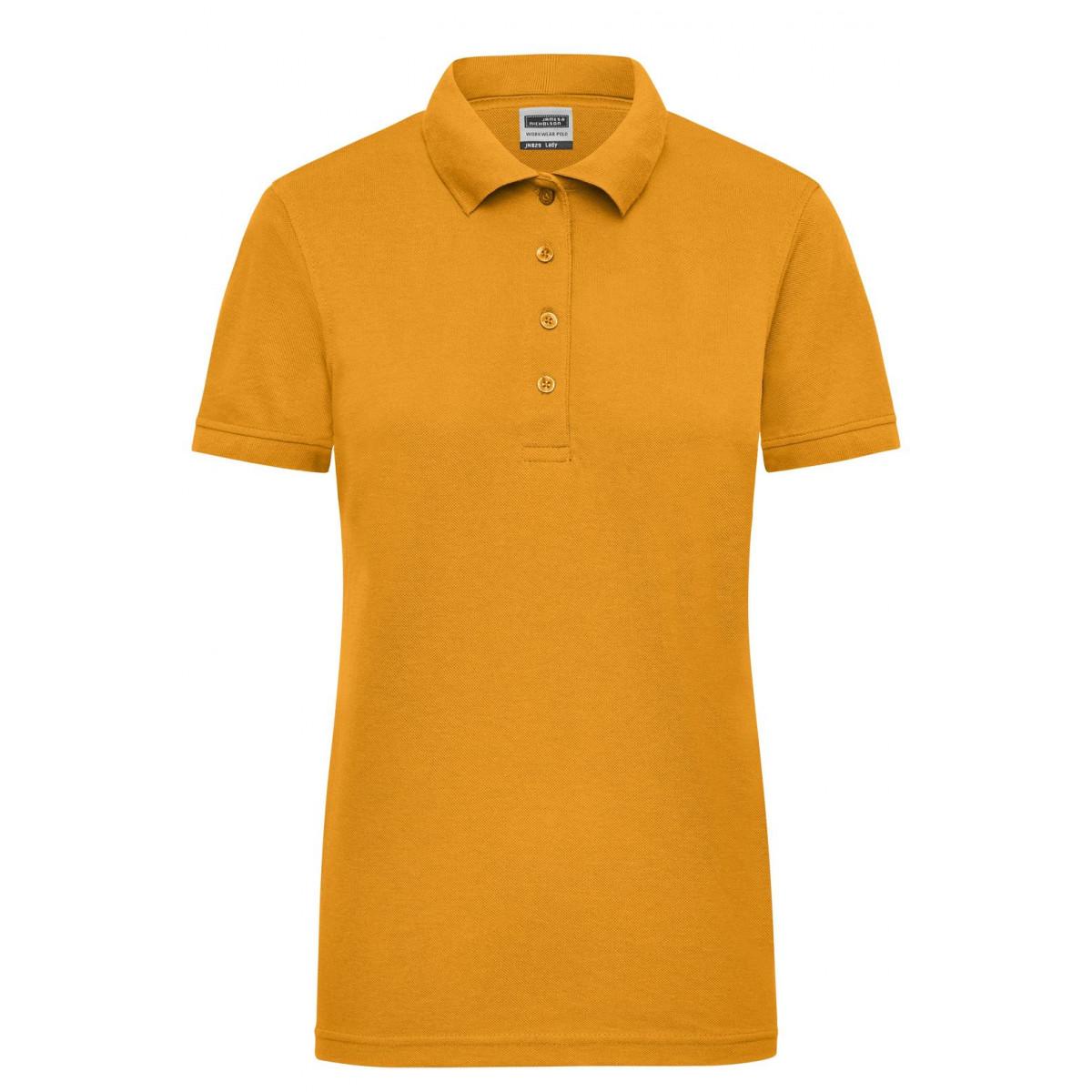 Рубашка поло женская JN829 Ladies Workwear Polo - Золоистый желтый