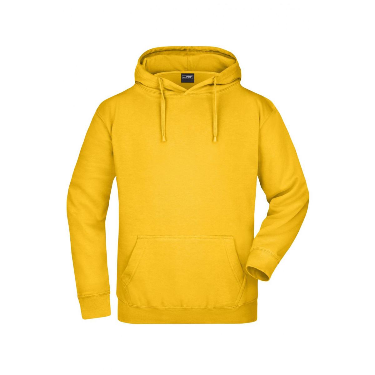 Толстовка мужская JN047 Hooded Sweat - Золоистый желтый