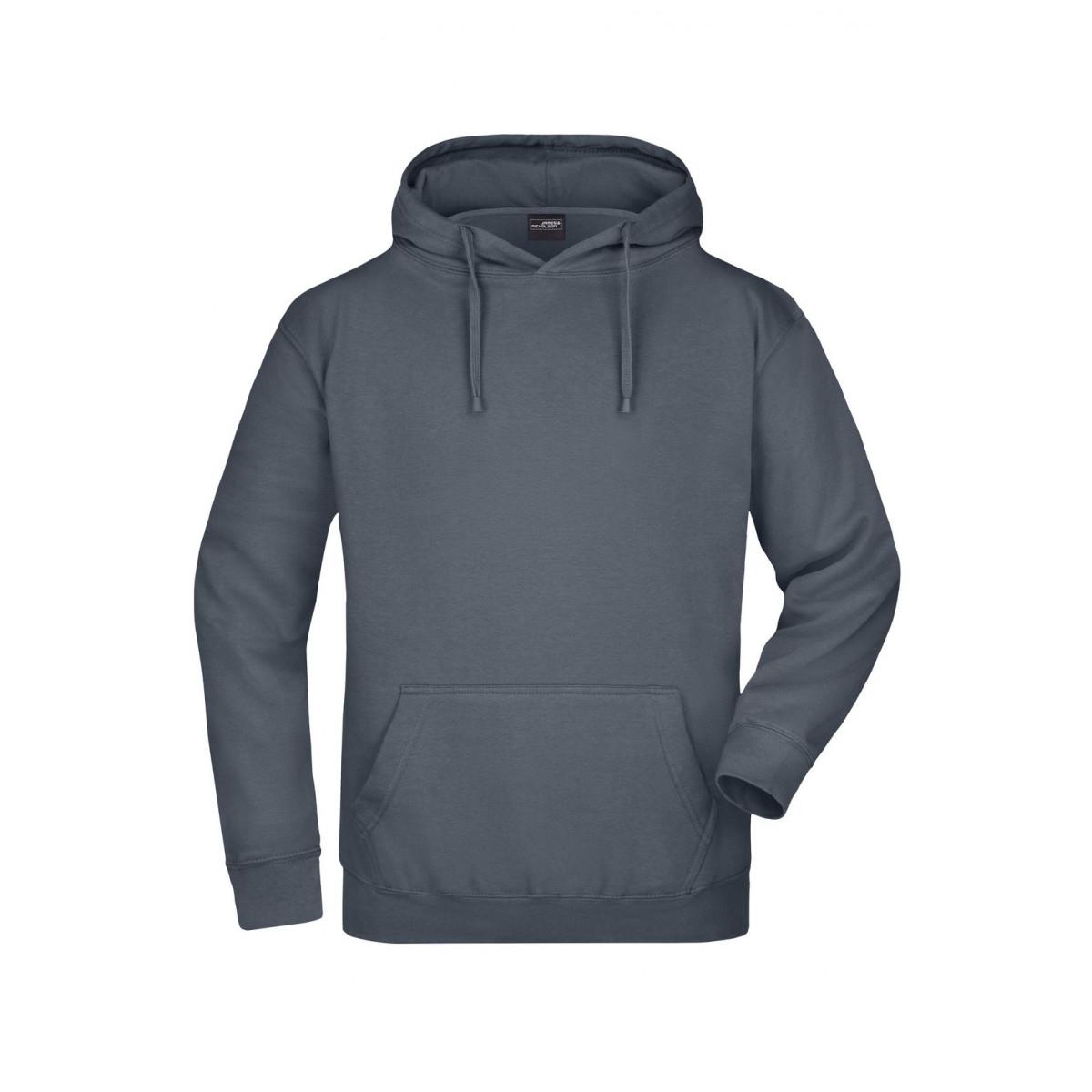 Толстовка мужская JN047 Hooded Sweat - Угольный