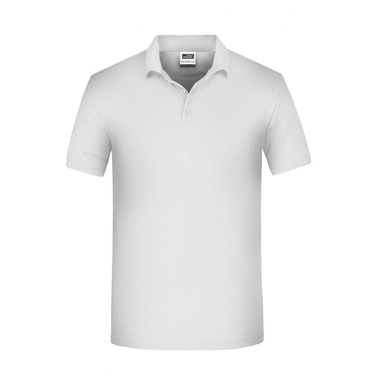 Рубашка поло мужская JN874 Mens BIO Workwear Polo - Белый