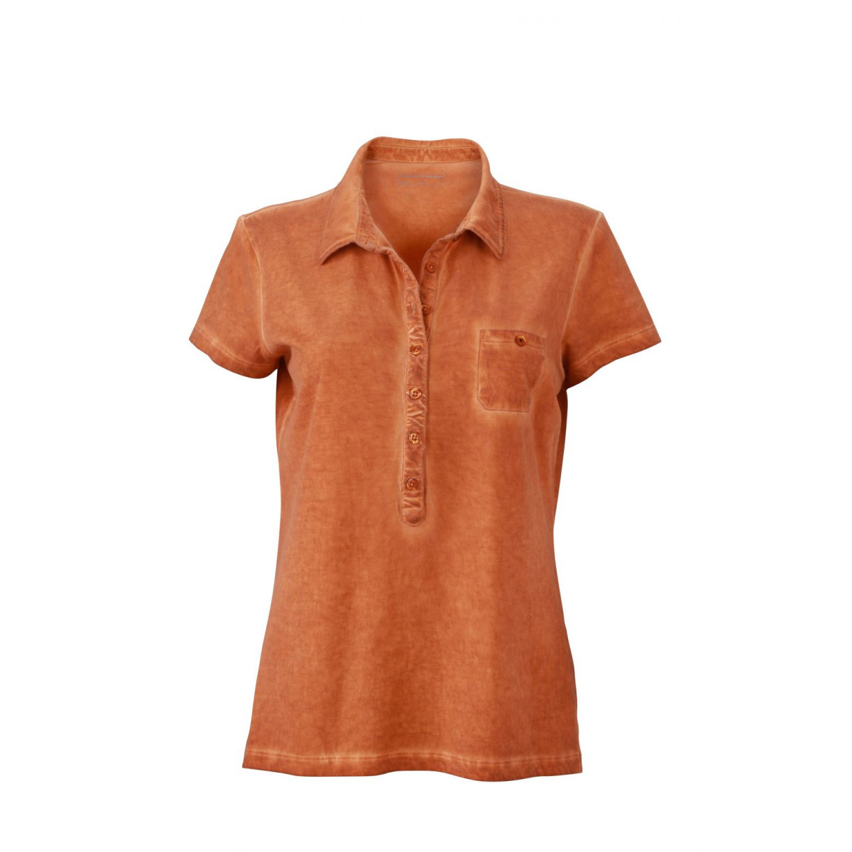 Рубашка поло женская JN987 Ladies Gipsy Polo - Земляной