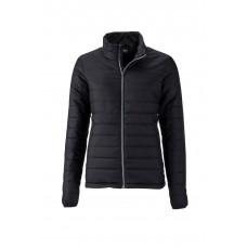 Куртка женская JN1119 Ladies' Padded Jacket - Черный