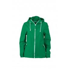 Куртка женская JN1073 Ladies' Sailing Jacket - Светло-зеленый/Белый