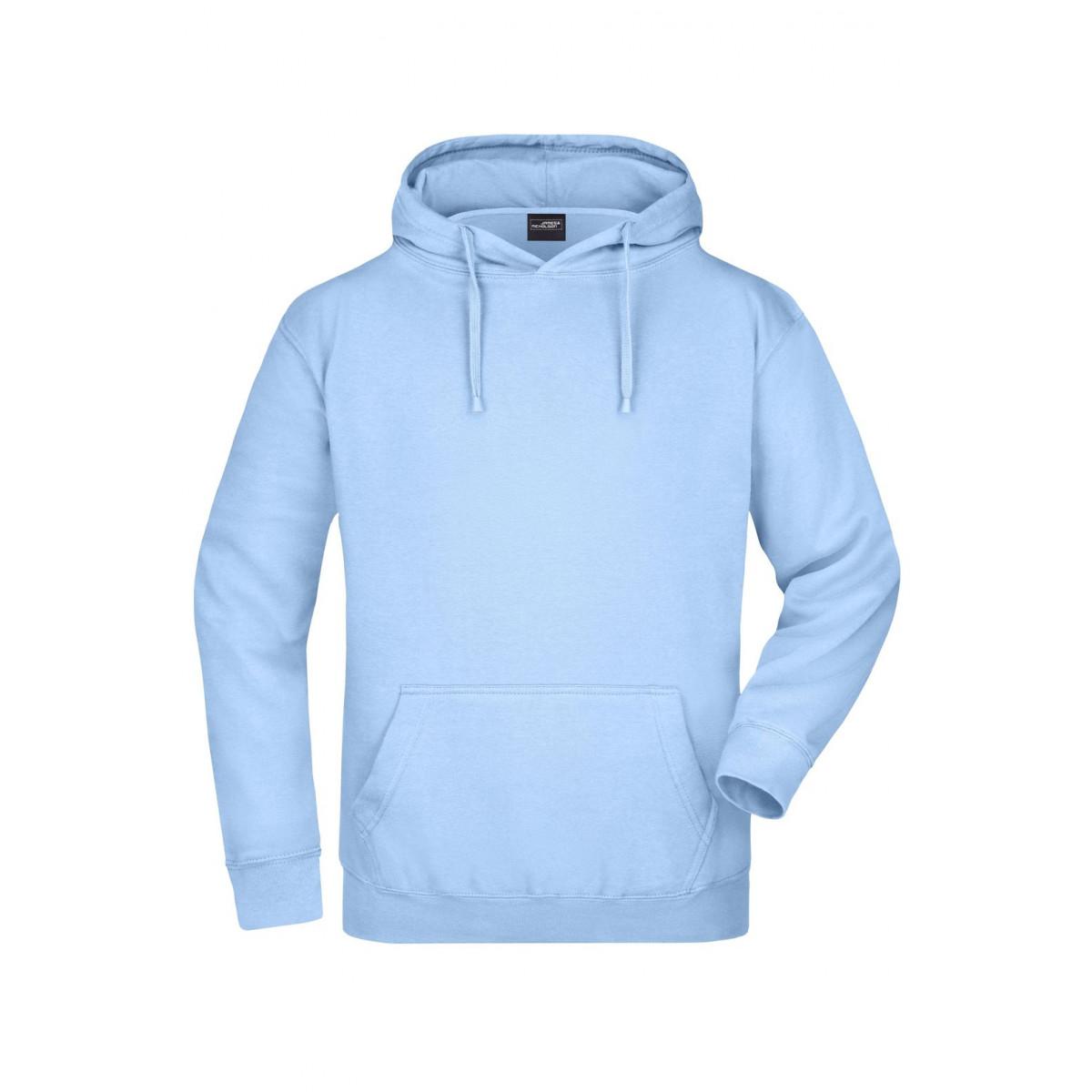Толстовка мужская JN047 Hooded Sweat - Светло-голубой