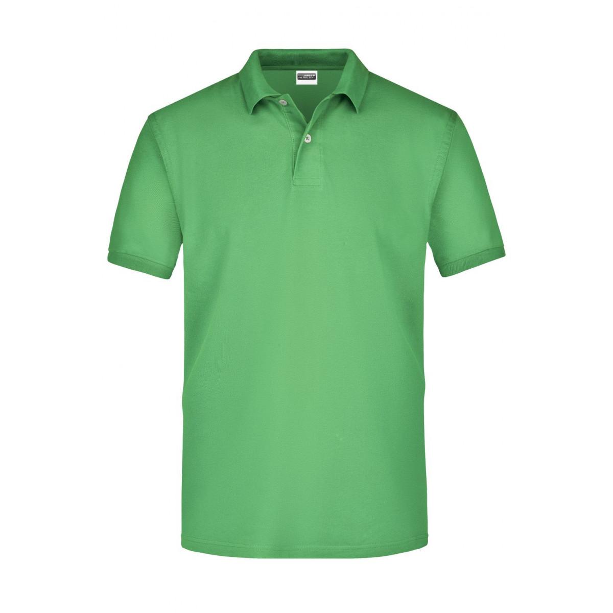 Рубашка поло мужская JN918 Basic Polo - Лайм