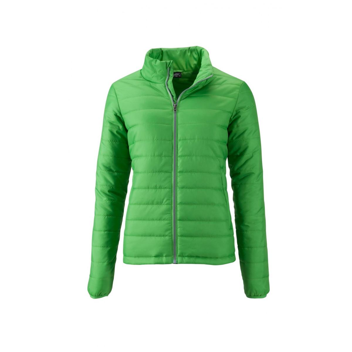 Куртка женская JN1119 Ladies Padded Jacket - Насыщенный зеленый