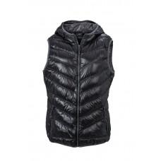 Жилет женский JN1061 Ladies' Down Vest - Черный/Серый