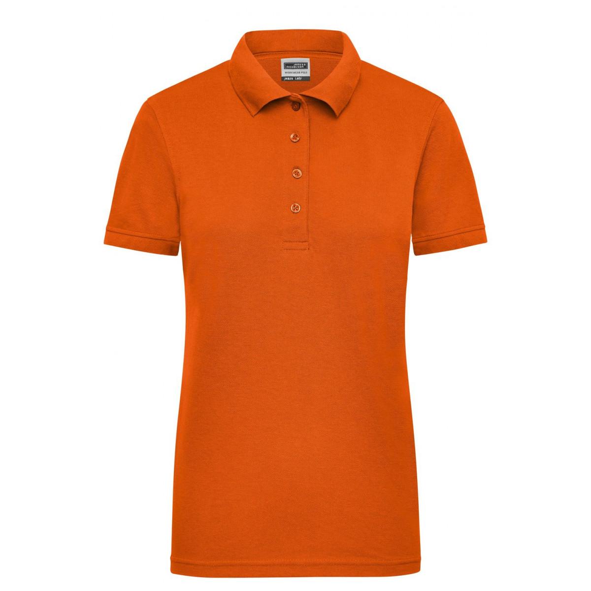Рубашка поло женская JN829 Ladies Workwear Polo - Оранжевый