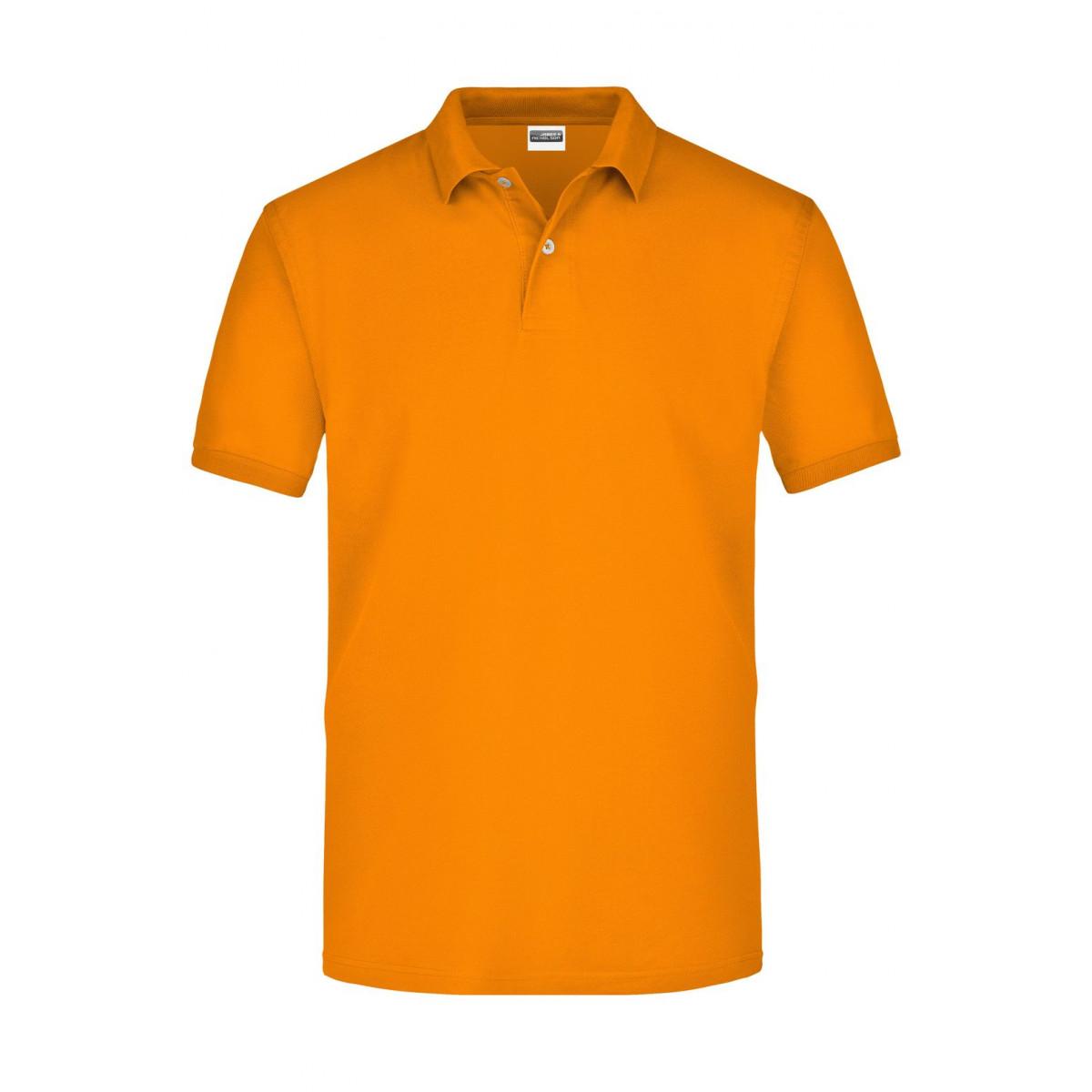 Рубашка поло мужская JN918 Basic Polo - Оранжевый