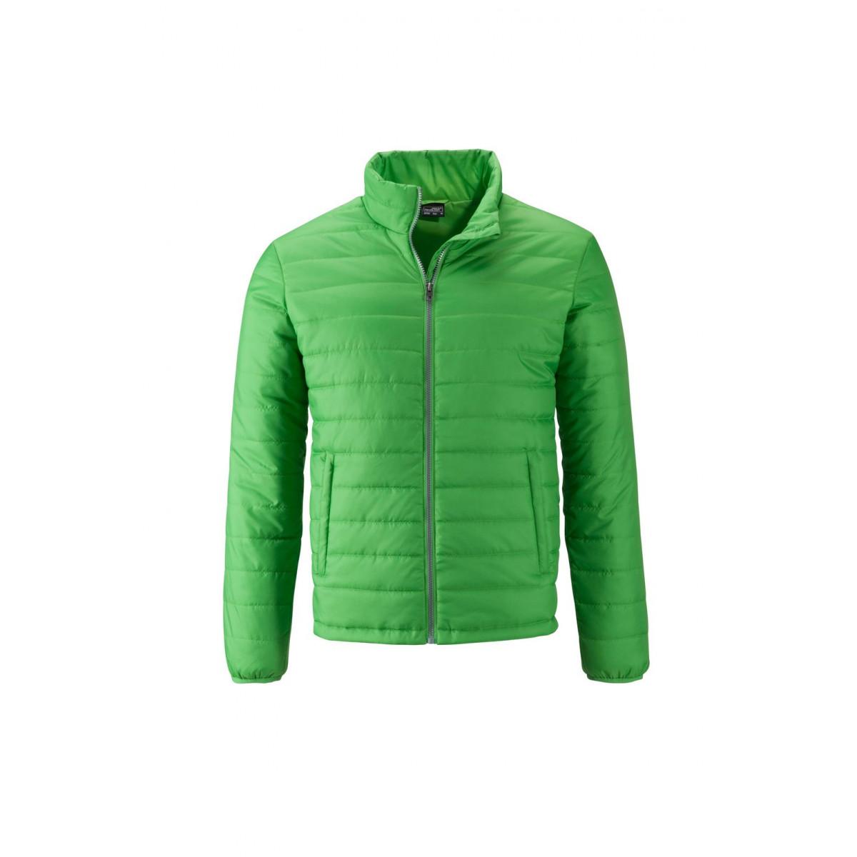 Куртка мужская JN1120 Mens Padded Jacket - Насыщенный зеленый