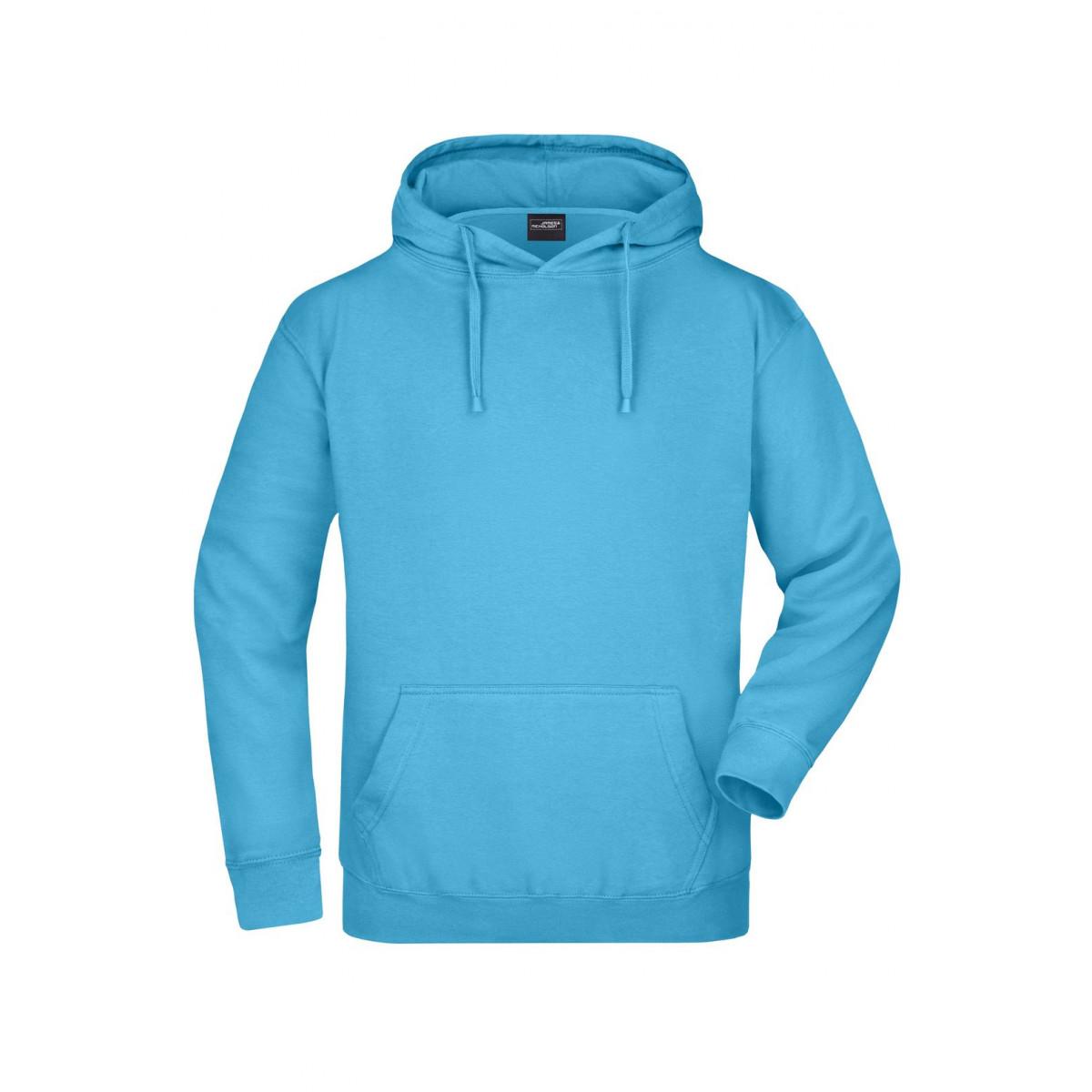 Толстовка мужская JN047 Hooded Sweat - Небесно-голубой
