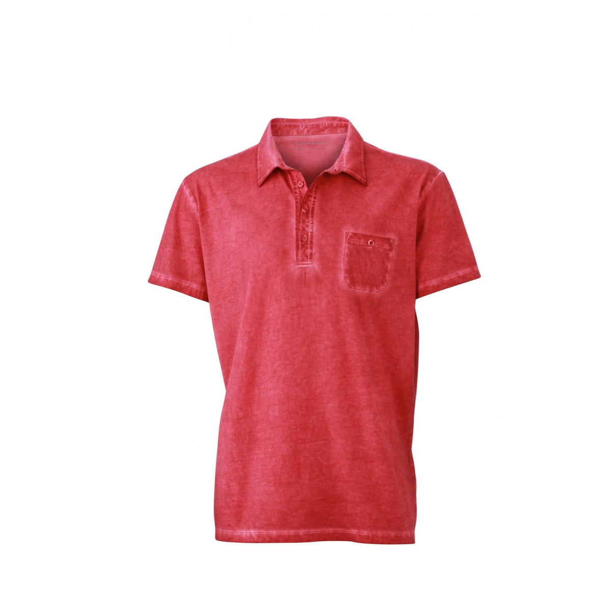 Рубашка поло мужская JN988 Mens Gipsy Polo - Красный