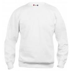 Толстовка детская 021020 Basic Roundneck Junior - Белый