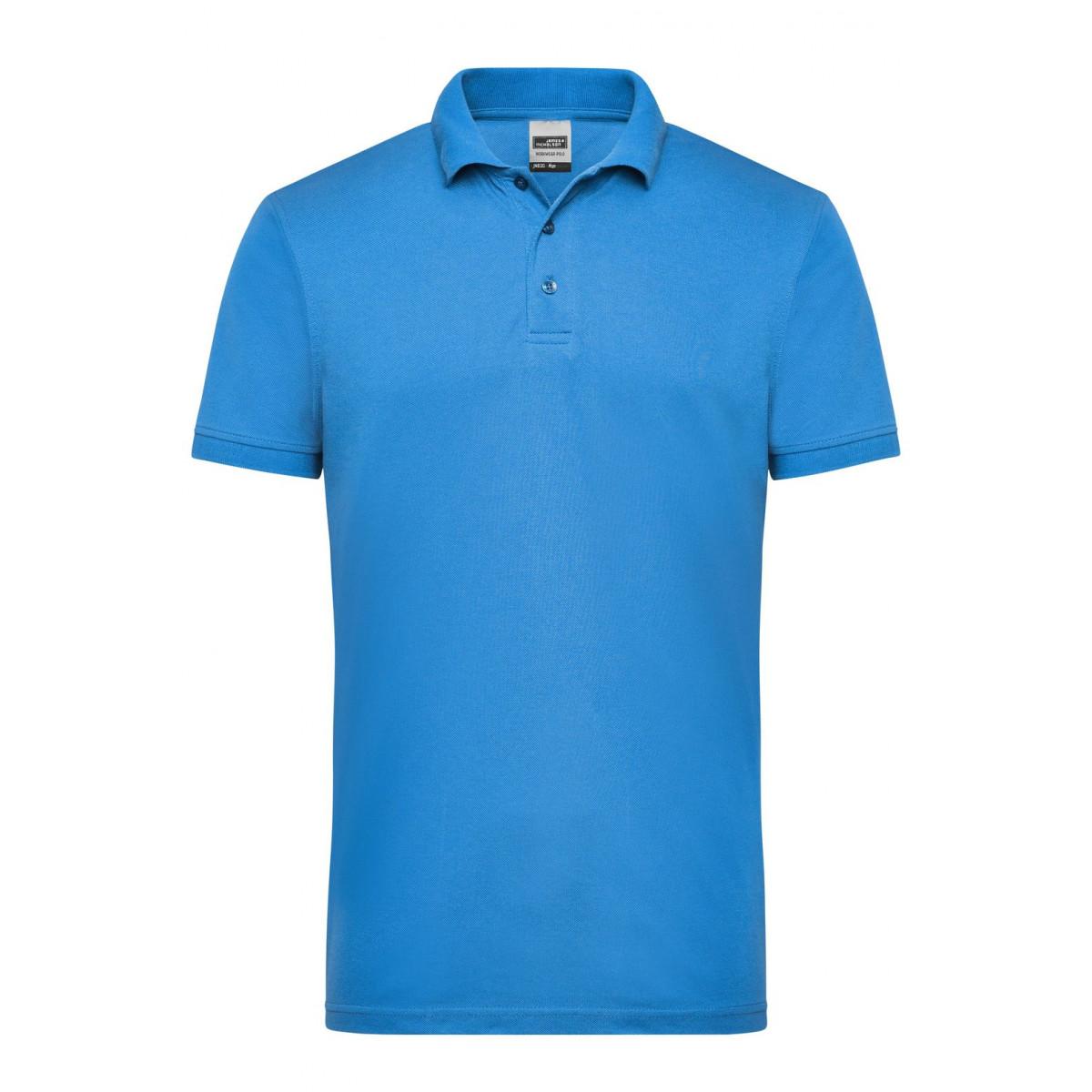 Рубашка поло мужская JN830 Mens Workwear Polo - Аква