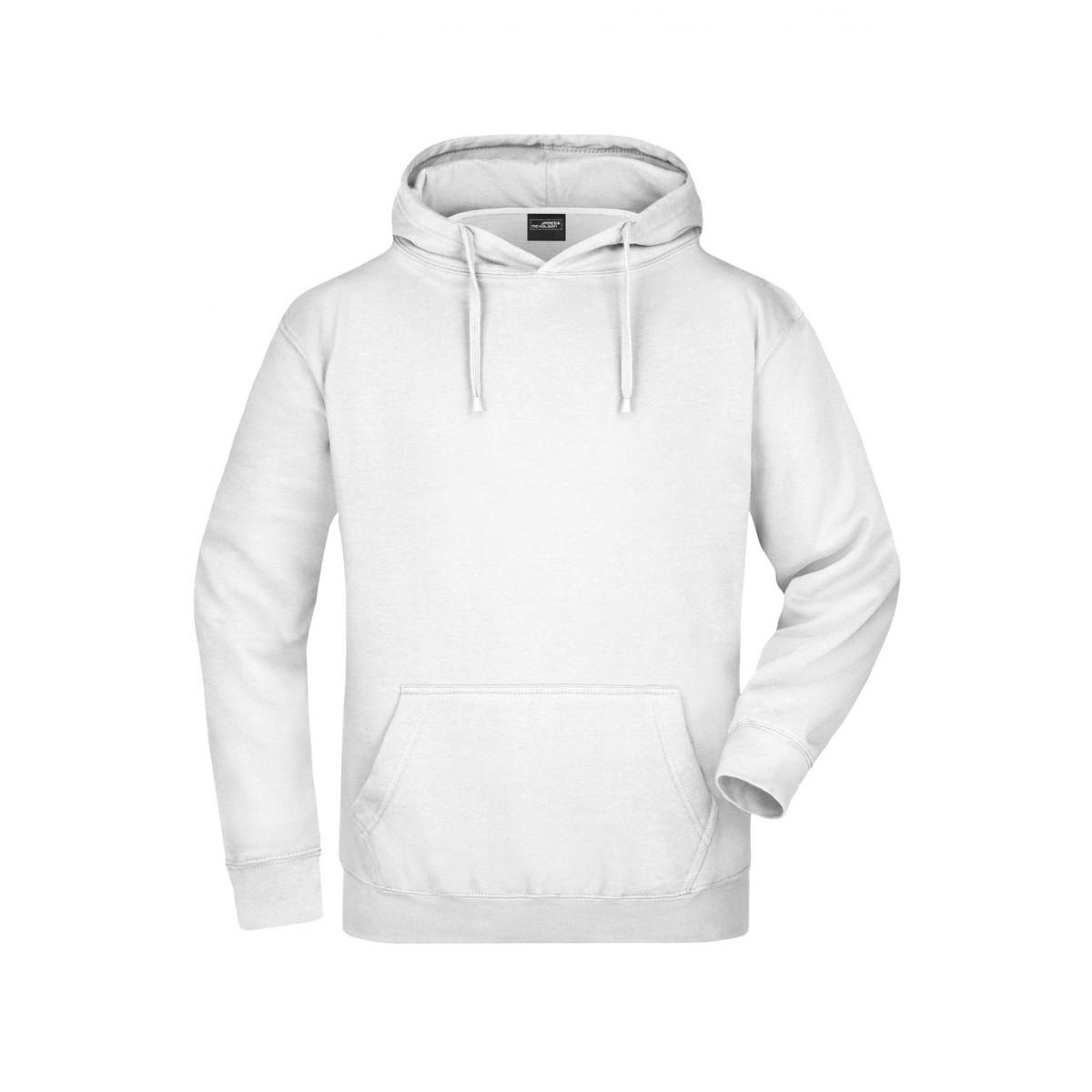 Толстовка мужская JN047 Hooded Sweat - Белый