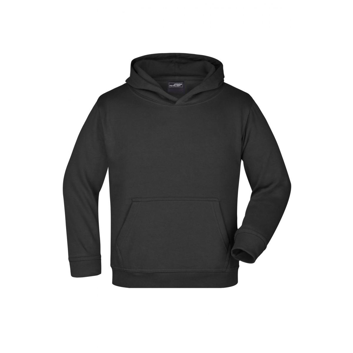 Толстовка детская JN047K Hooded Sweat Junior - Черный