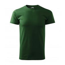 Футболка мужская 129 Basic - Бутылочно-зеленый