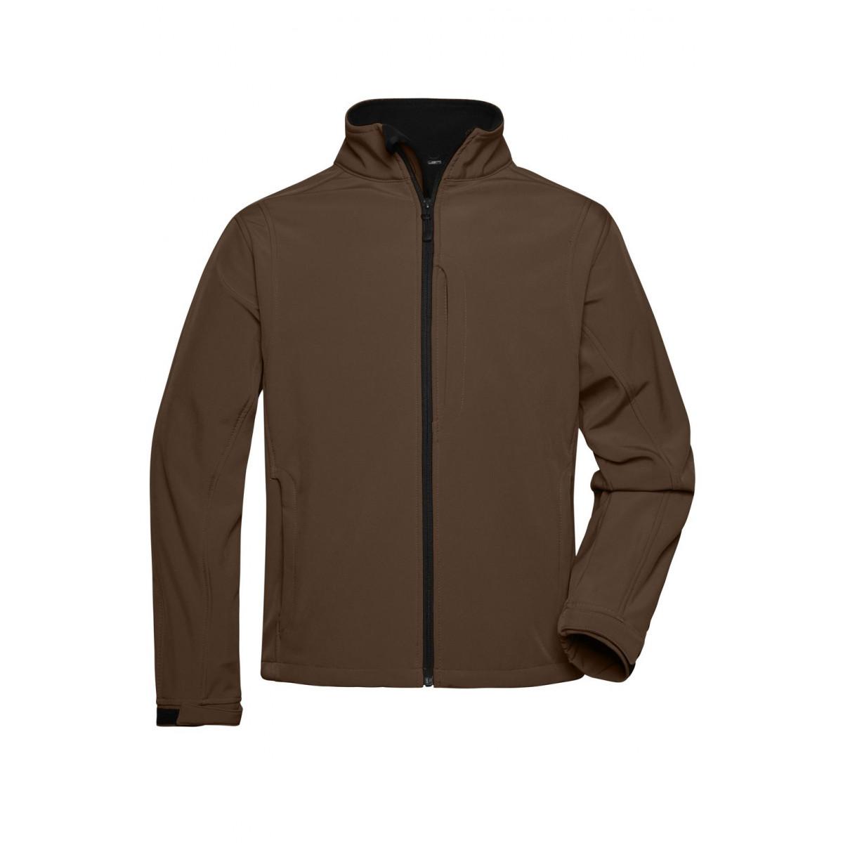 Куртка мужская JN135 Mens Softshell Jacket - Коричневый