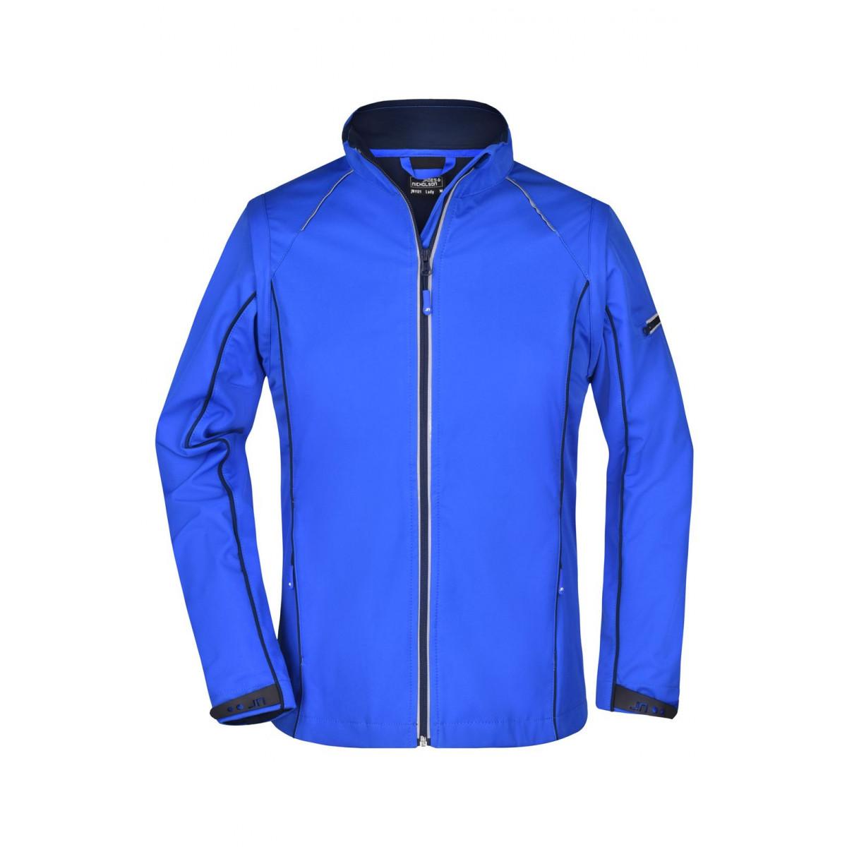 Куртка женская JN1121 Ladies Zip-Off Softshell Jacket - Темно-синий/Темно-синий