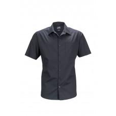 Рубашка мужская JN644 Men's Business Shirt Shortsleeve - Черный