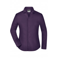 Рубашка женская JN608 Ladies' Business Blouse Long-Sleeved - Темно-фиолетовый